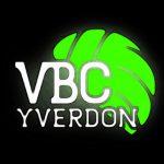 Logo VBC Yverdon - (fond noir - site internet)