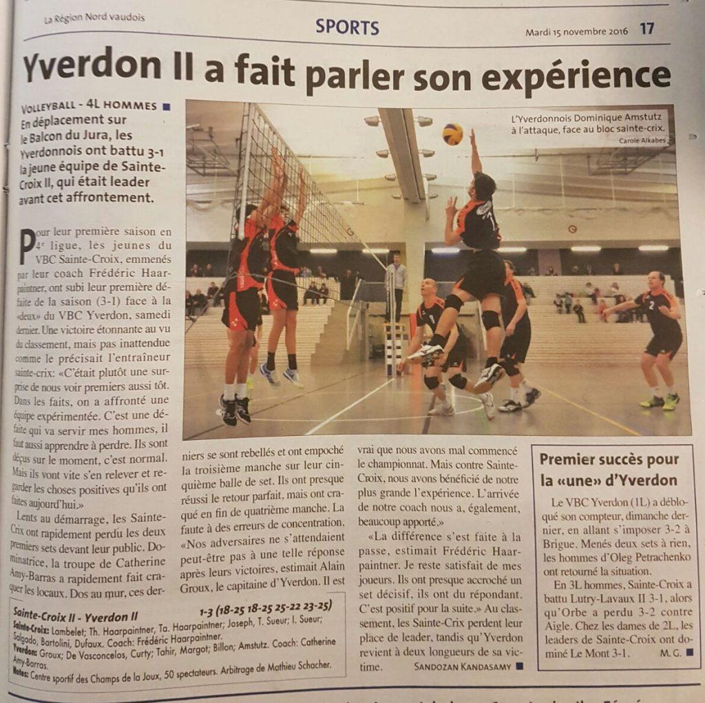News - 2016-11-15 MII - SteCroix