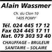 Sponsor - Wassmer Alain chauffage