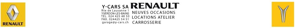 Sponsor - Ycars Renault